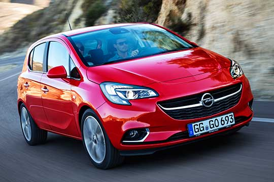 opel corsa santorini easy car